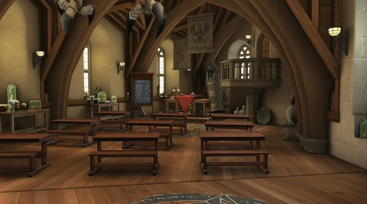 harry potter hogwarts mystery defense against the dark arts classroom