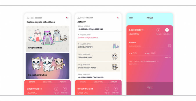 Crypto Wallet Provider Released New App to Store Collectibles and Game Assets | Crypto