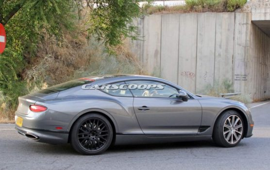 2020 Bentley Continental GT Speed Spied Mixing Wheel Sets | Feature