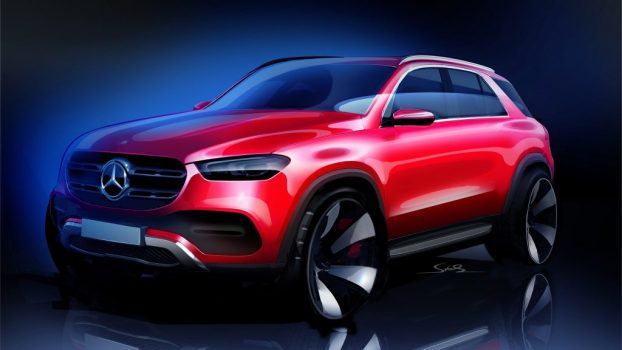 Mercedes-Benz Drops Revealing Sketch Of New GLE | Feature