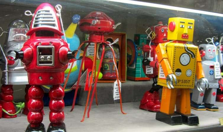 Why we love robotic dogs, puppets and dolls