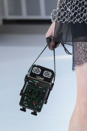 Chanel robot handbag