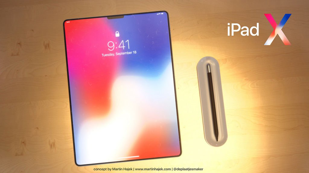 New iPad Pro 2018 release date, price & specs: Concept illustration by Martin Hajek