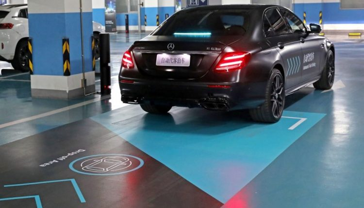 Automated Valet Parking jointly premiered by Daimler and Bosch in China   Robotics