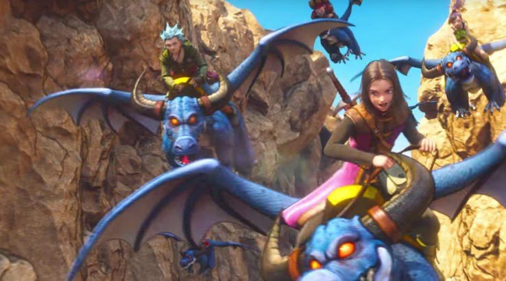 Dragon Quest 11 - Dragon riding
