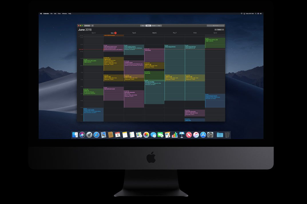 macOS Mojave release date & new features: Dark Mode