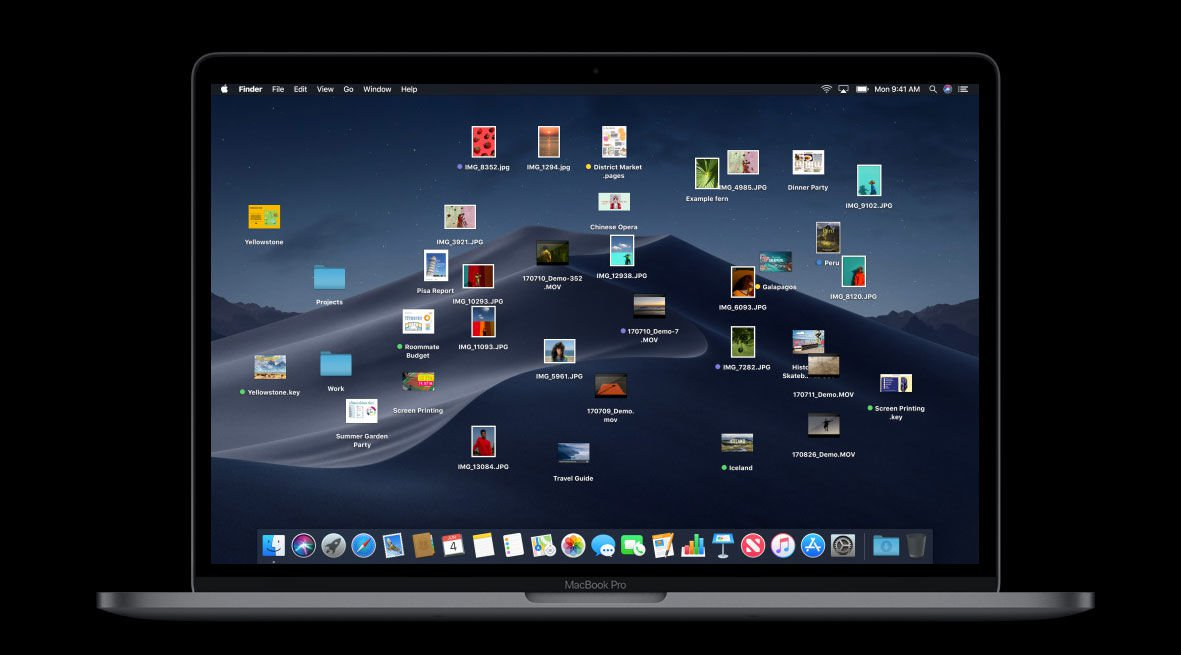 macOS Mojave release date & new features: Desktop Stacks