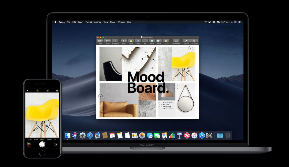 macOS Mojave release date & new features: Continuity