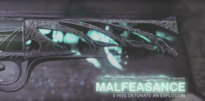 Destiny 2: How to Unlock the Malfeasance Exotic Hand Cannon | Gaming News