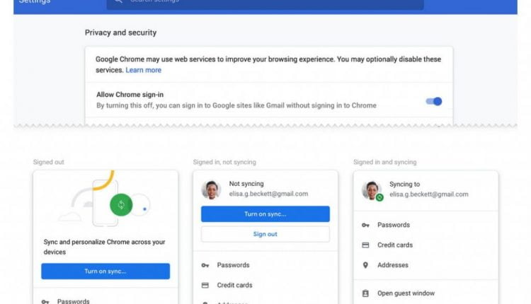 Chrome 70 allows users to opt out of controversial auto sign-in feature   Computing