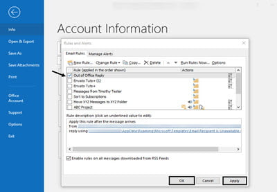 How to Set an Out of Office Message in Outlook | How To