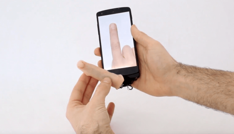 Look at This Creepy Finger You Can Plug Into Your Smartphone | Feature Tech