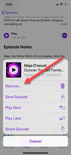 podcast-playlist-ios-remove