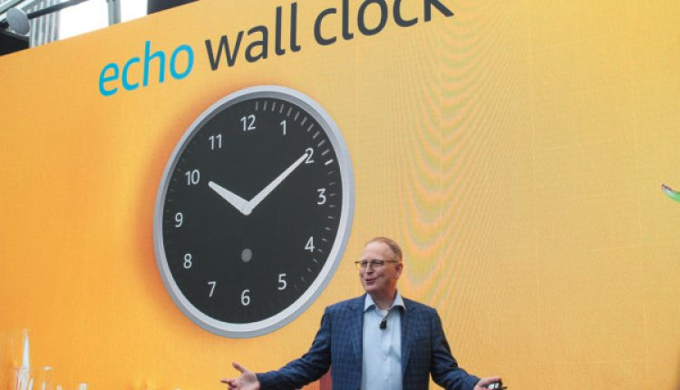 Amazon launches an Echo Wall Clock, because Alexa is gonna be everywhere   Industry