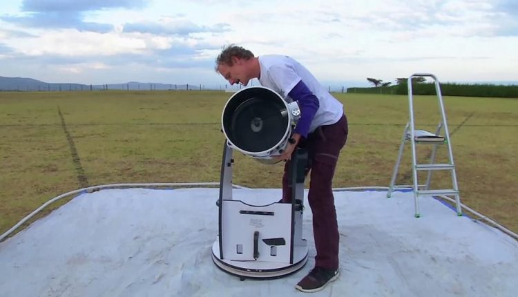 An eye on the sky with a travelling telescope in Kenya | Feature Tech