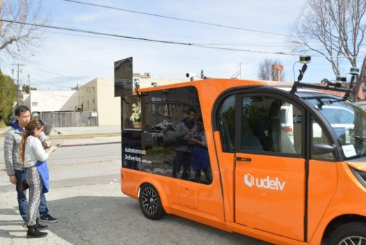 Autonomous vehicle startup Udelv inks grocery delivery deal in Oklahoma City | Industry
