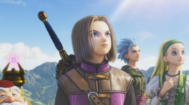 dragon quest 11 hero