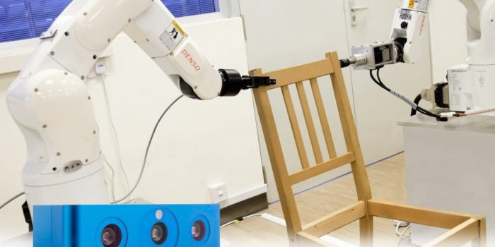 Furniture Assembly Gets All Set With 3D Vision, Robot Arms