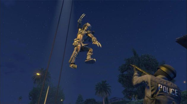 Grand Theft Auto 5 Mod Adds the Predator | Gaming News