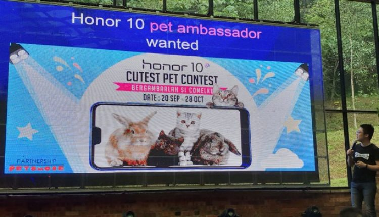 Honor Malaysia Is Looking For Honor 10 Pet Ambassador   Digital Asia