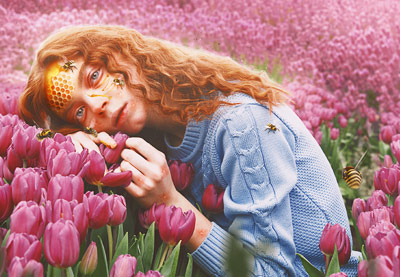 How to Create a Honey Bee Themed Photo Manipulation in Photoshop   How To