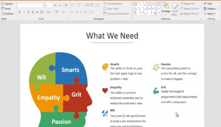 How to Edit a Brain Infographic PowerPoint Template in 60 Seconds | How To