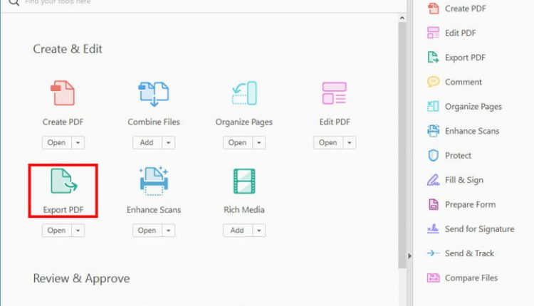 How to convert a PDF file to Excel   Computing