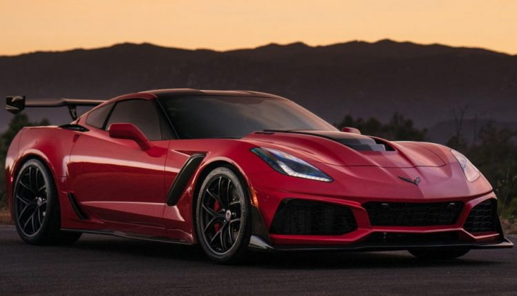 Long Beach Red Corvette ZR1 Puts On Satin Black Wheels For Sunset Pose | Feature