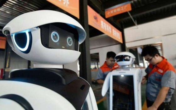 Robots will handle 52 percent of current work tasks by 2025, a World Economic Forum study says