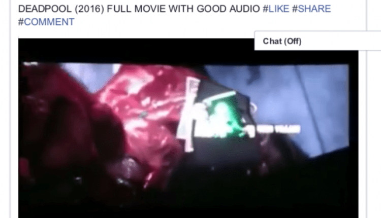 Man who shared Deadpool movie on Facebook faces 6 months in jail | Cyber Security