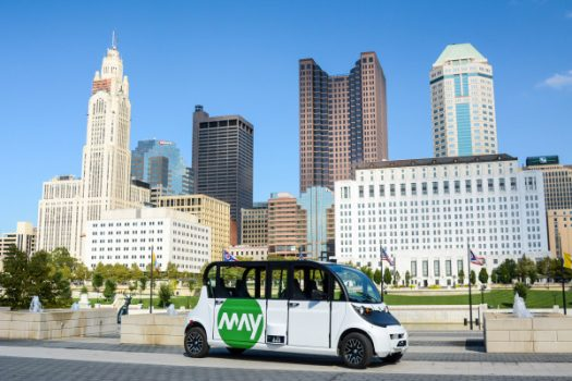 May Mobility puts autonomous shuttles on the streets of Columbus, Ohio | Industry