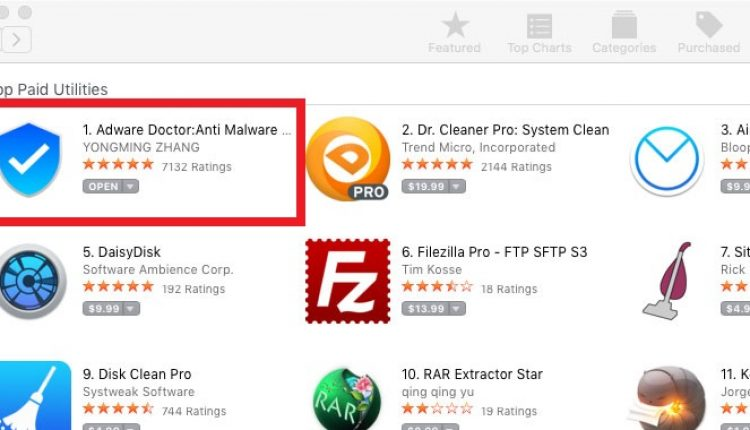 No.1 Adware Removal Tool On Apple App Store Caught Spying On Mac Users | Cyber Security