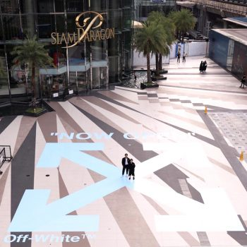 Off White - global brand opens its first shop in Siam Paragon