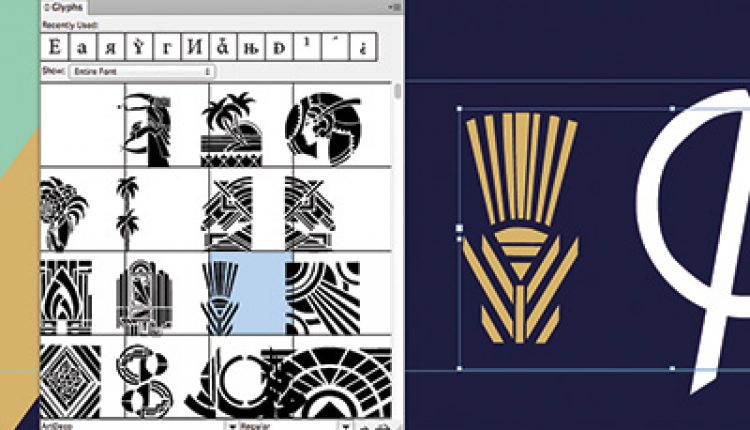 Quick Tip: Easy Graphics Using the InDesign Glyphs Panel   How To