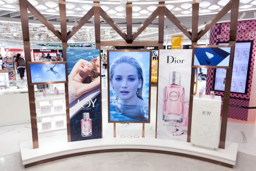 TheShillaDutyFree_JOY by Dior_Curated Zone_ East Hall North_Display Panels
