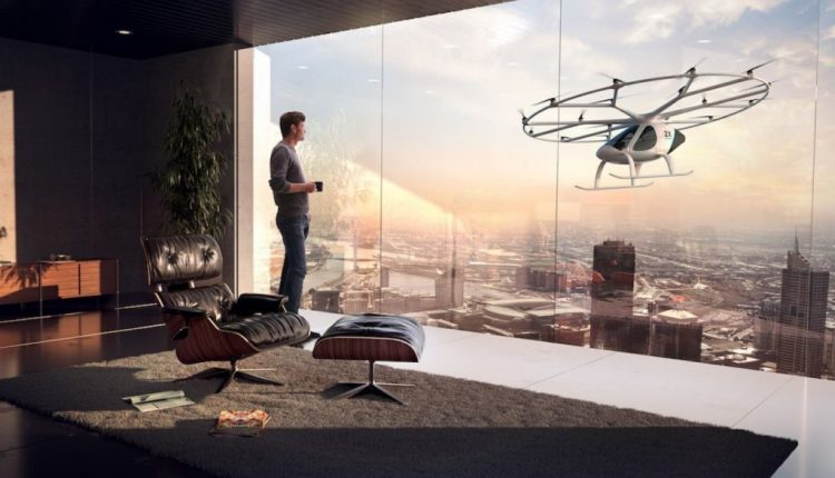 This Flying Vehicle Could One Day Be Your Uber | Feature Tech