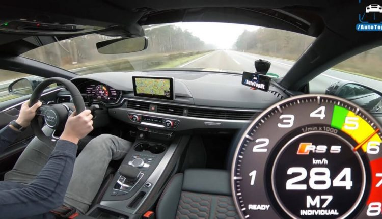Tuned, 500 PS Audi RS5 Coupe Hits Top Speed On The Autobahn | Feature