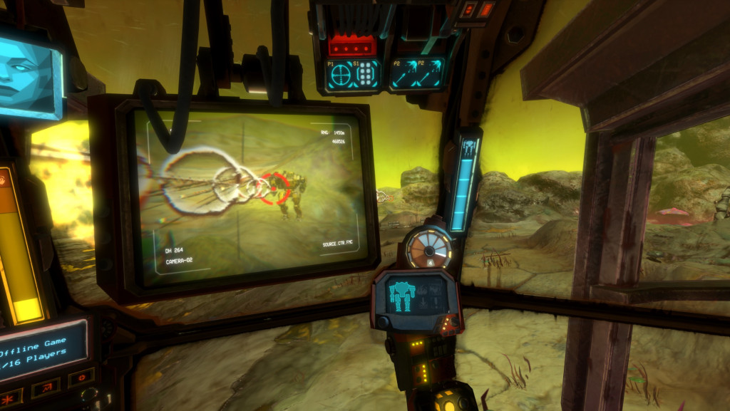 Vox Machinae lets you control a mech from within VR.