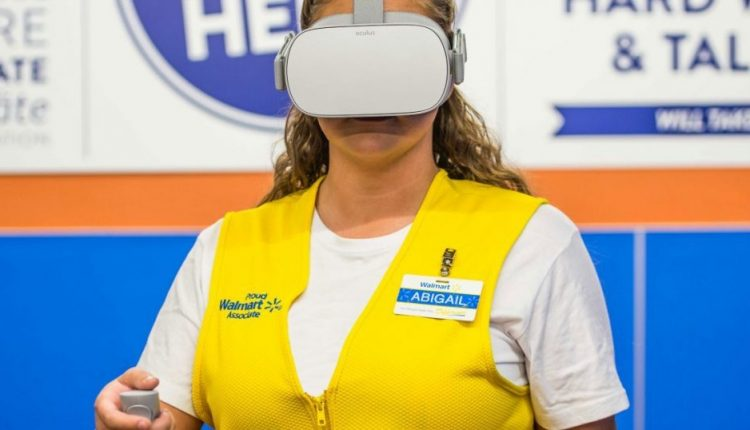 Walmart buys 17,000 Oculus Go VR headsets to train a million employees   Industry