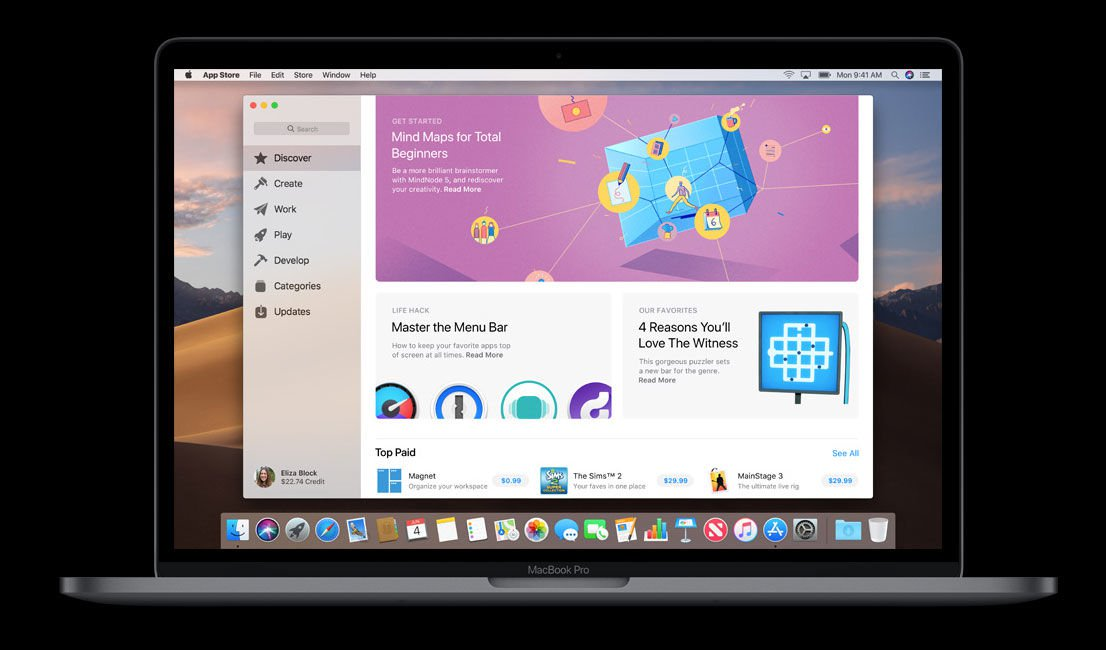 macOS Mojave release date & new features: App Store