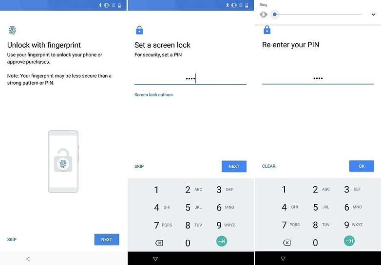 setup security android