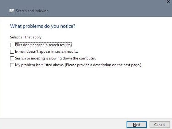 How to Fix Windows 10 Search Not Working Issue