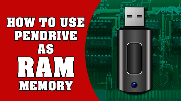 Increase RAM via Pendrive
