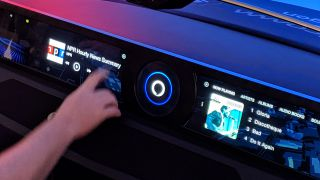 Qualcomm's Alexa demo saw the smart assistant play music, provide navigation and explain car issues