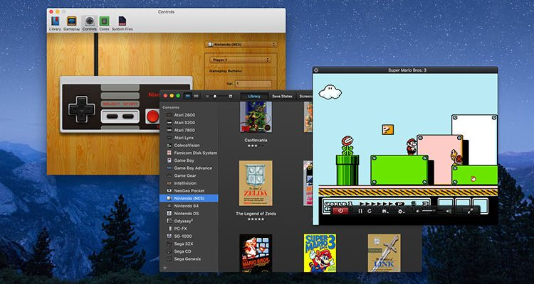 Use an Emulator to Play Retro Video games on macOS
