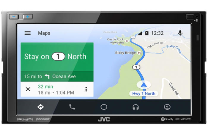android auto screen