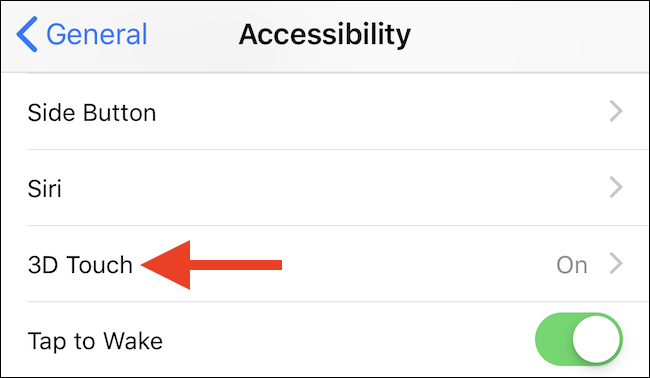 How to Allow or Disable 3D Contact on an iPhone 4