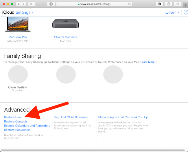 How to Recover Deleted Files from iCloud Drive 3