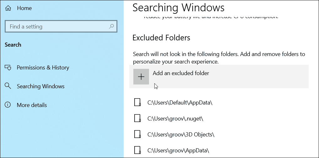 How to Enable Enhanced Search Mode on Windows 10 8