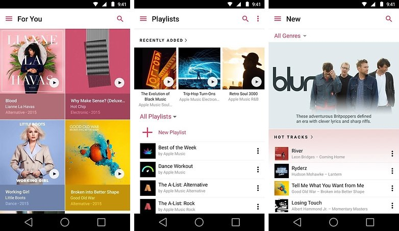 Apple Music 1.0 for Android screenshot 001